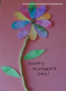 DIY Mother's Day Card