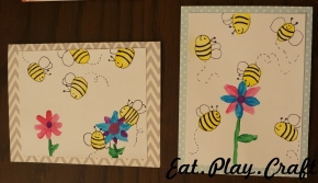 DIY Bumble Bee Greeting Card
