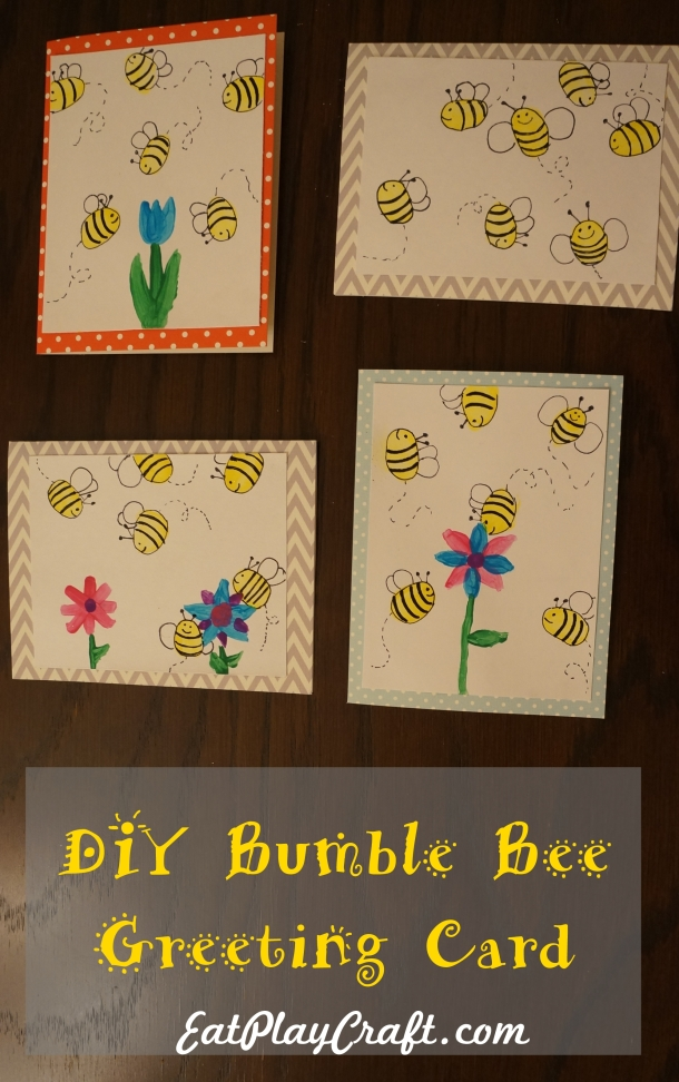 DIY Bumble Bee Card