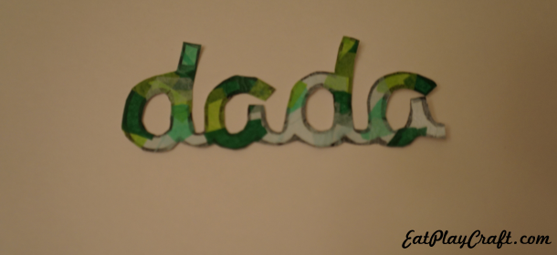 DIY Easy Father's Day Card