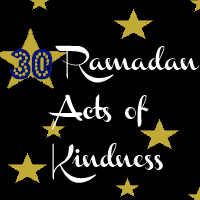 30 Ramadan Acts of Kindness – Donation