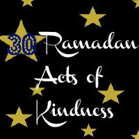 30 Ramadan Acts of Kindness –Donation